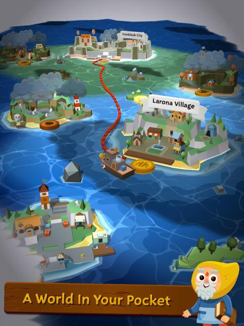 seabeard map