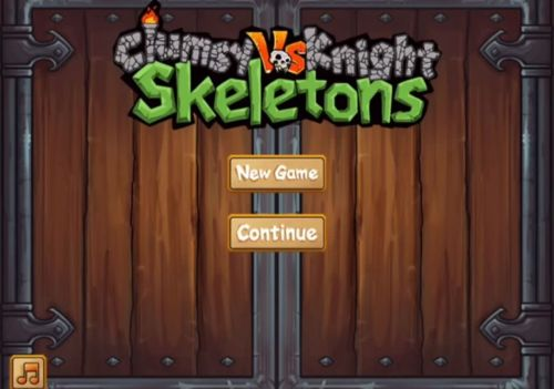 clumsy knight vs. skeletons strategy guide