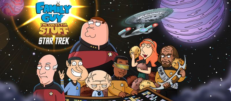 family guy: the quest for stuff - star trek cheats