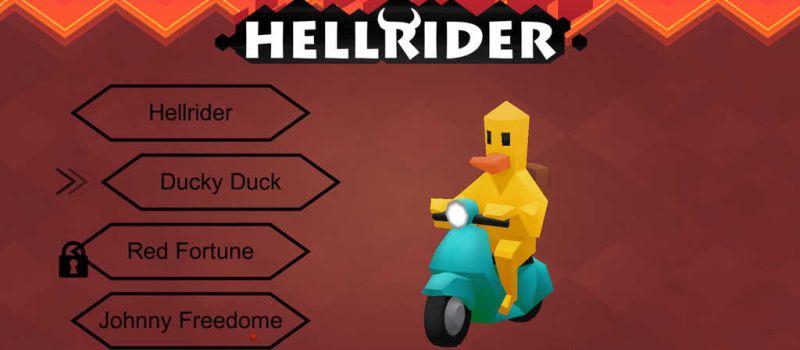 hellrider cheats