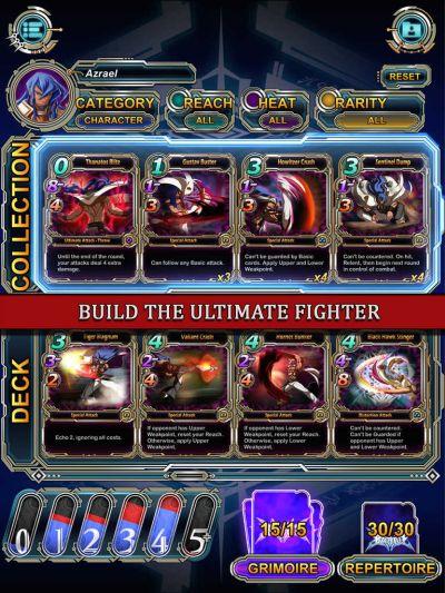 blazblue: battler cards cheats