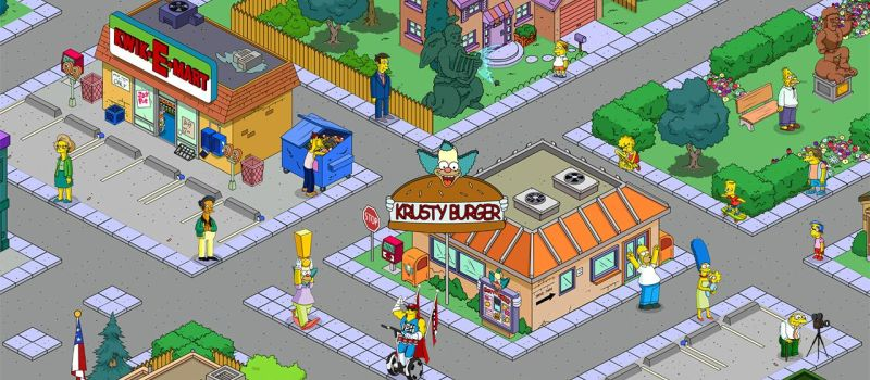 the simpsons tapped out cheats 6 useful tips tricks for rh levelwinner com Homer Simpson Simpsons Springfield Layout