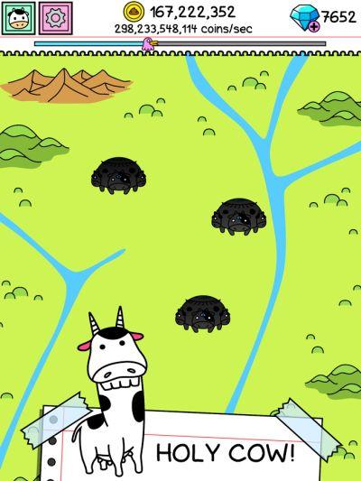 cow evolution cheats