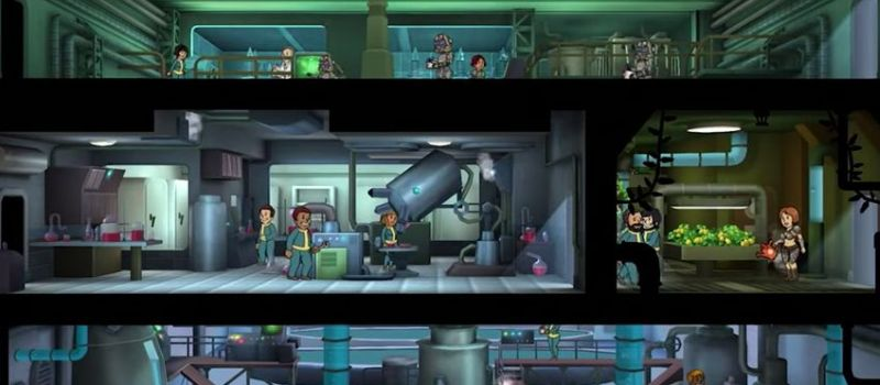 fallout shelter walkthrough