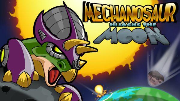 mechanosaur hijacks the moon cheats