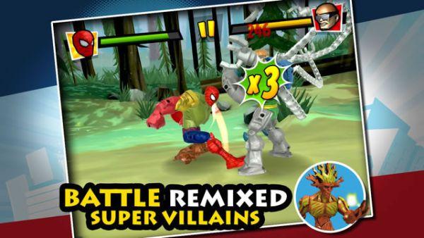 mix+smash: marvel super hero mashers cheats
