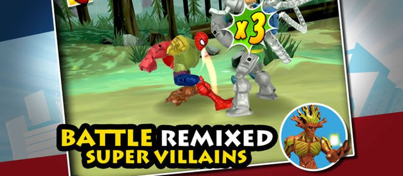 mix+smash: marvel super hero mashers cheats