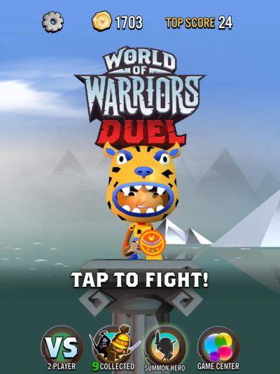 world of warriors duel tips