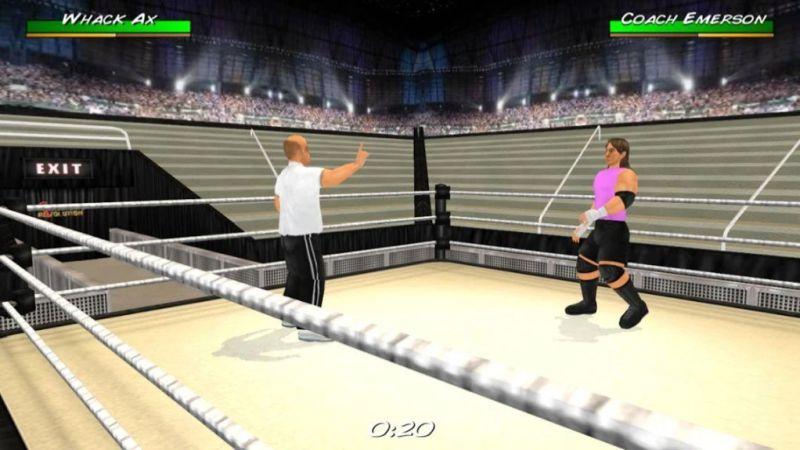 wrestling revolution 3d training