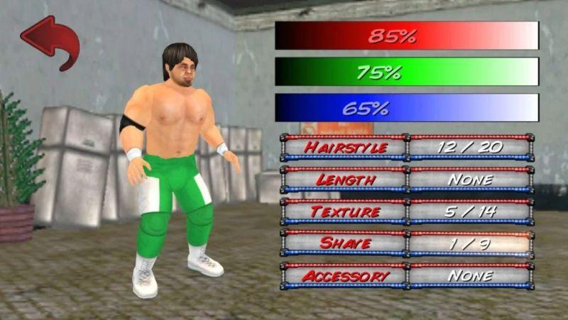 wrestling revolution 3d wrestler attributes