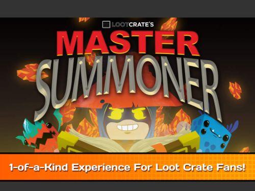 loot crate master summoner tips