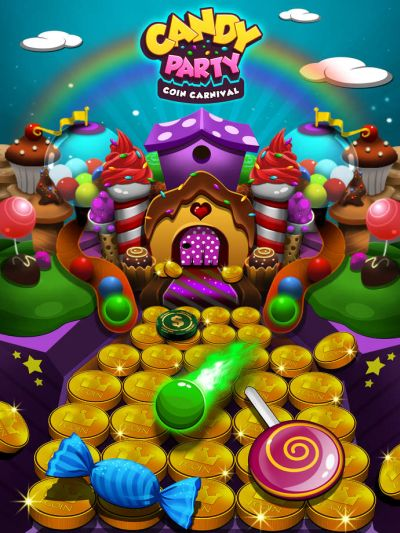 candy party coin carnival tricks