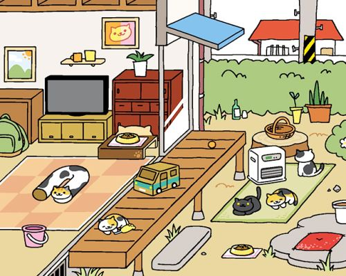 neko atsume kitty collector how to get peaches