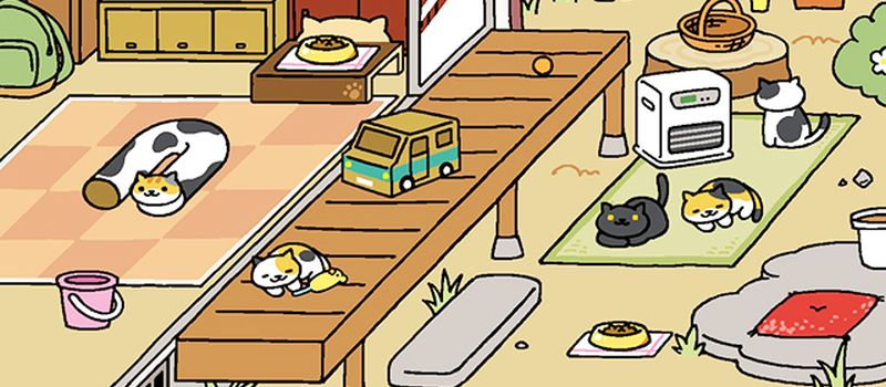 neko atsume kitty collector peaches
