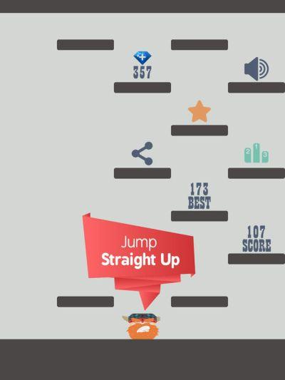 straight up high score