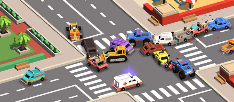 traffic rush 2 high score