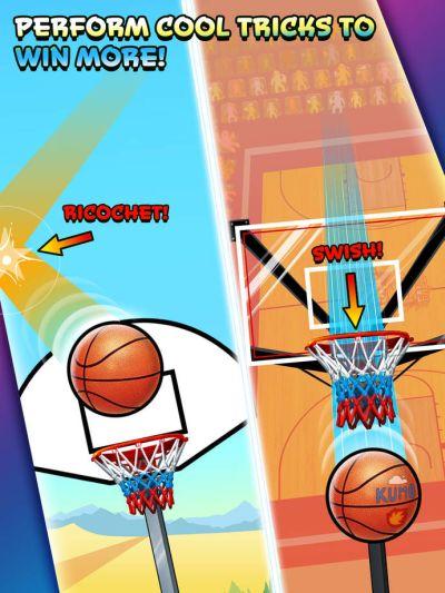 basket fall high score