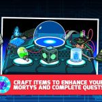 Pocket Mortys Cheats & Hints: A List of All Crafting Recipes