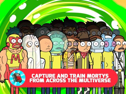 Pocket mortys guide tips how to get more morty for Rick and morty craft list
