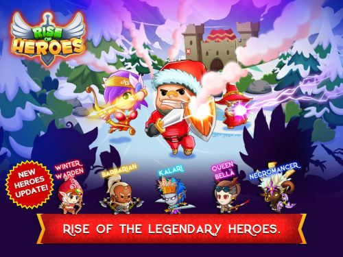 rise of heroes tips