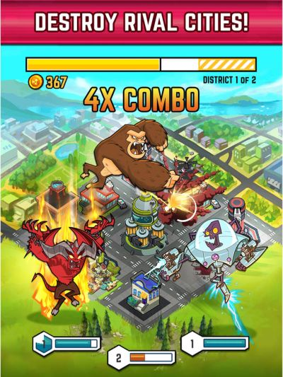 smash monsters city rampage tips
