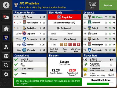 football manager mobile 2016 tips