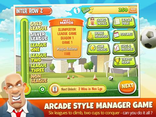 the manager a football story tips