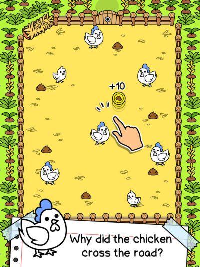 chicken evolution cheats