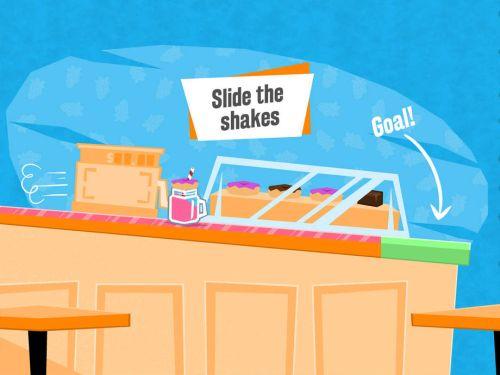 slide the shakes tips