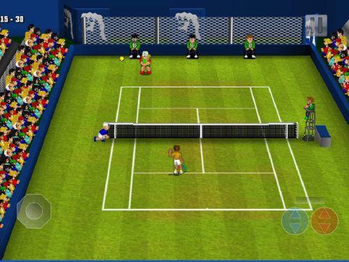 tennis champs r retuns