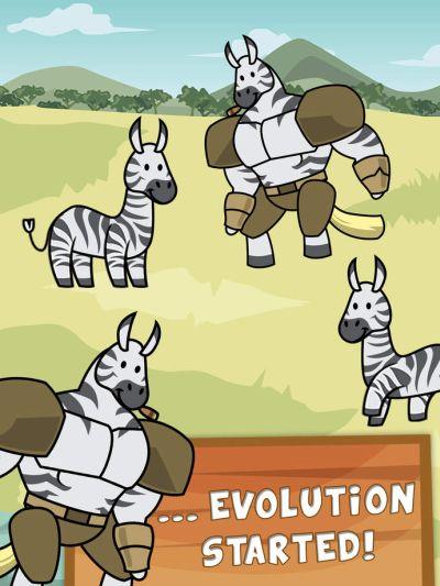 zebra evolution cheats