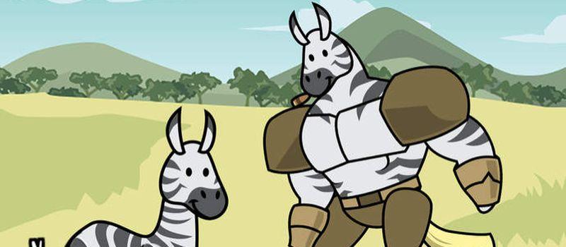 zebra evolution tips