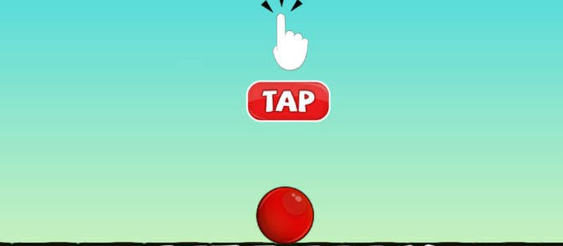red ball up high score