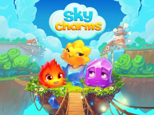 sky charms high score