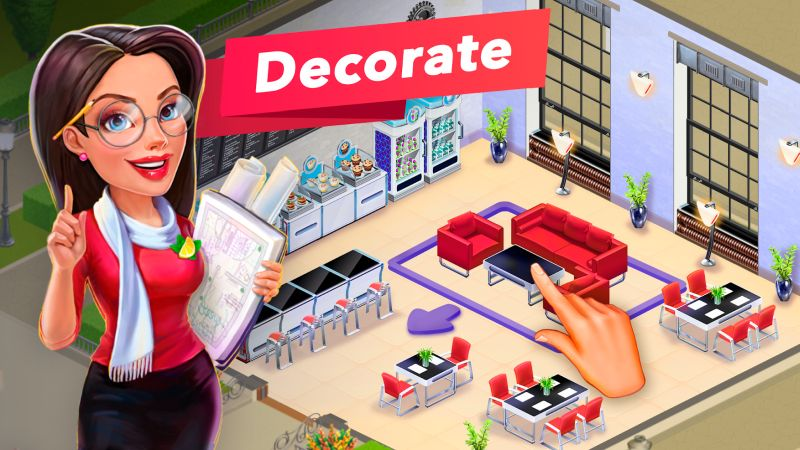 my cafe recipes and stories decoration