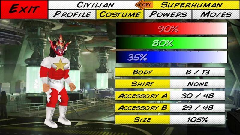 super city costume