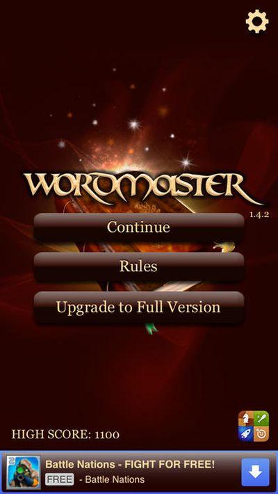 wordmaster answers