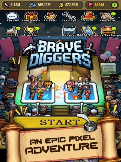 brave diggers tips
