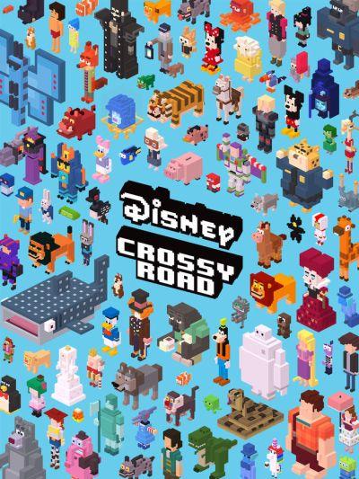disney crossy road unlock characters