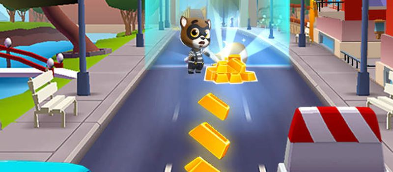 talking tom gold run tips