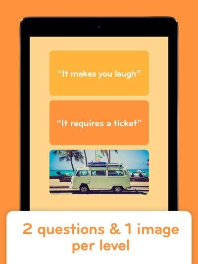 94% answers something you flip
