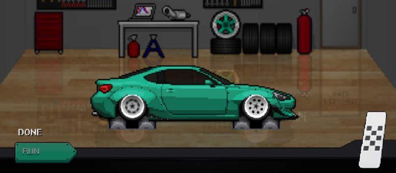 pixel car racer cheats
