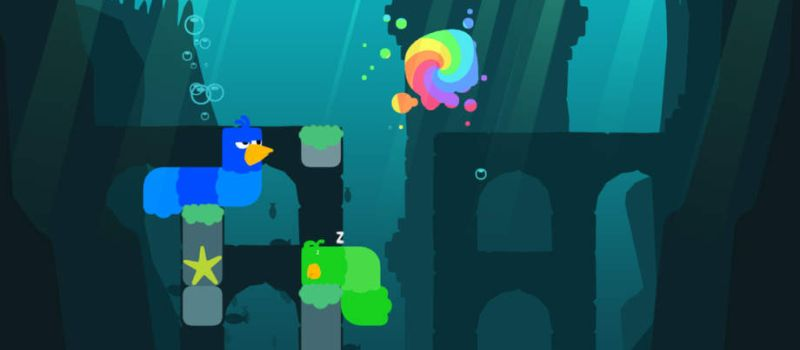 snakebird walkthrough