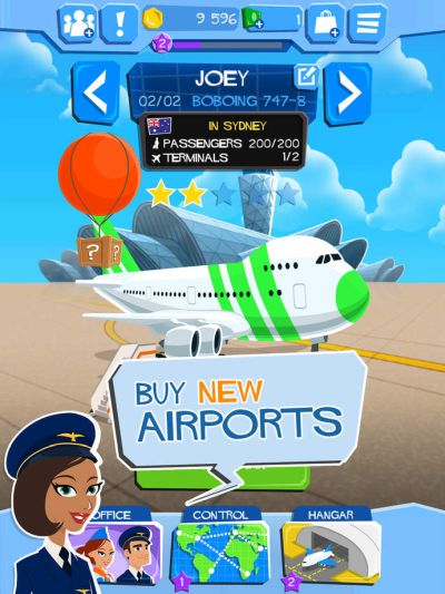 airline tycoon free flight tips