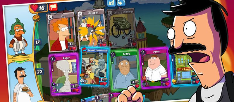 animation throwdown skill cards