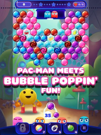 pac-man pop tips