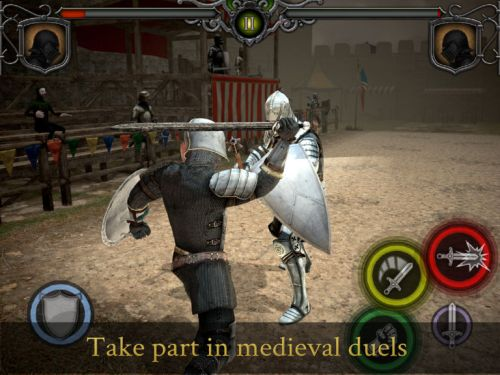 knights fight medieval arena tips