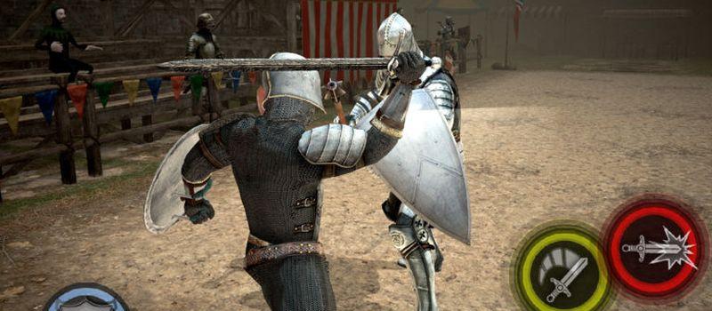 Stunning knights jabbing