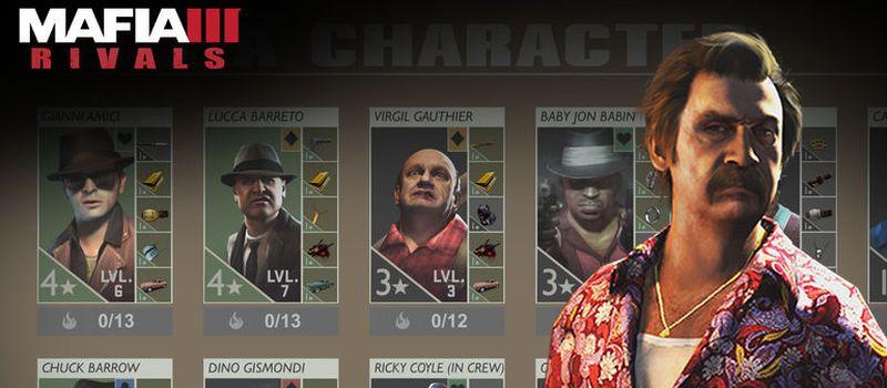 mafia iii rivals how to unlock new characters