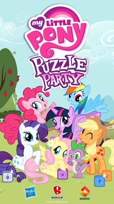 my little pony puzzle party tips